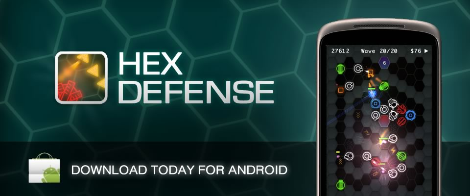 HexDefense for Android
